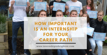 internship in brighton career path