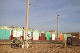 Seafront Colourful Houses - Internship in Brighton