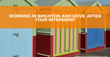 Working in Brighton and Hove after your internship