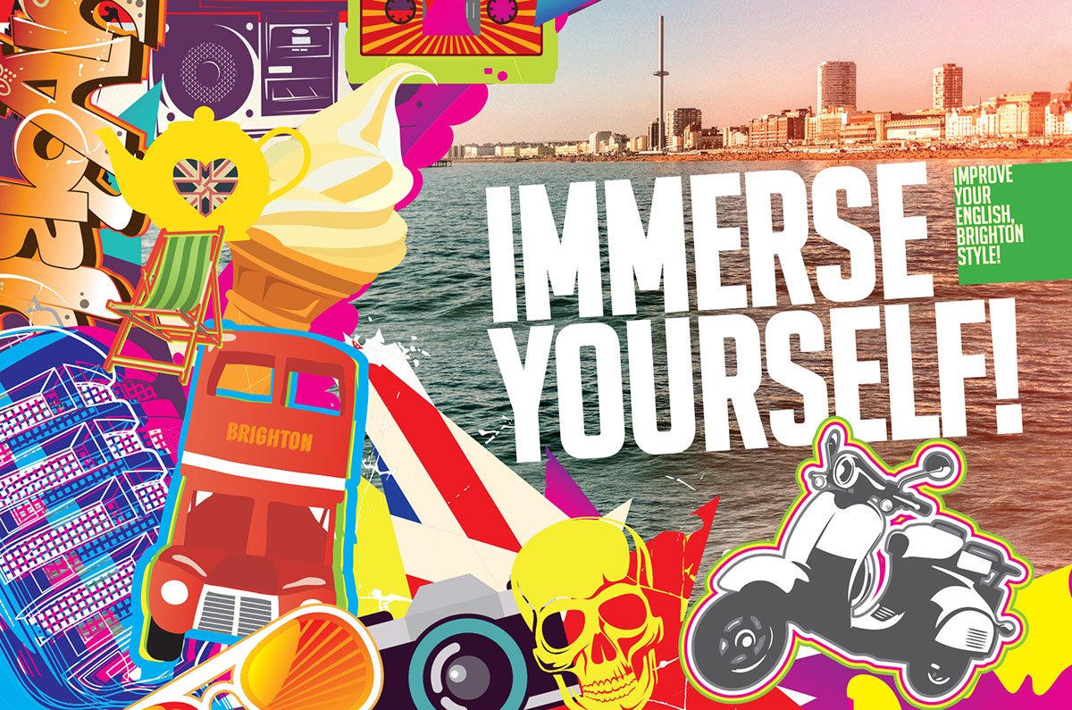 Immerse Yourself - English Course - Internship in Brighton