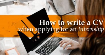 How to write a CV when applying for an internship
