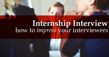 How to prepare for an internship interview