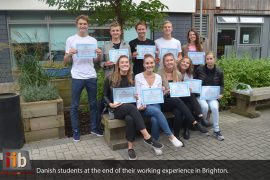Danish Students - Work Experience Internship in Brighton