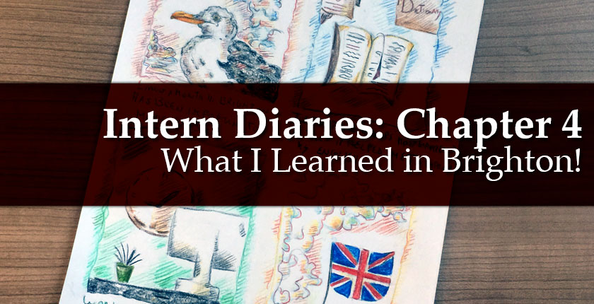 Intern Diaries: What I learned in Brighton